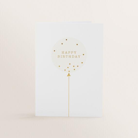 Greeting Card  BALLOON  hi-res