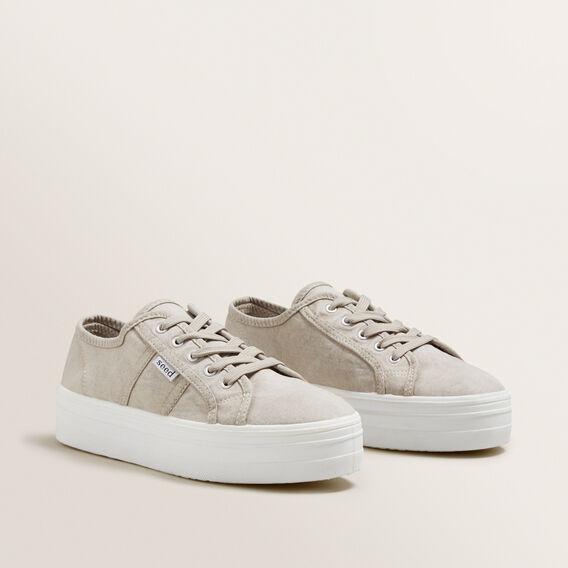 Billie Platform Sneaker  GREY  hi-res