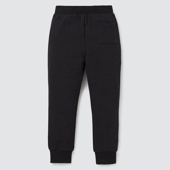 Pique Track Pant  BLACK  hi-res