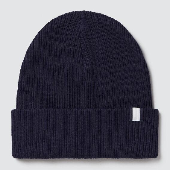 Rib Knit Beanie  MIDNIGHT BLUE  hi-res