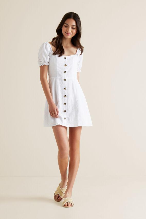 Prarie Dress  WHITE  hi-res