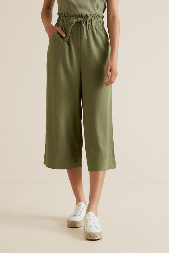 Linen Pants  PALE KHAKI  hi-res