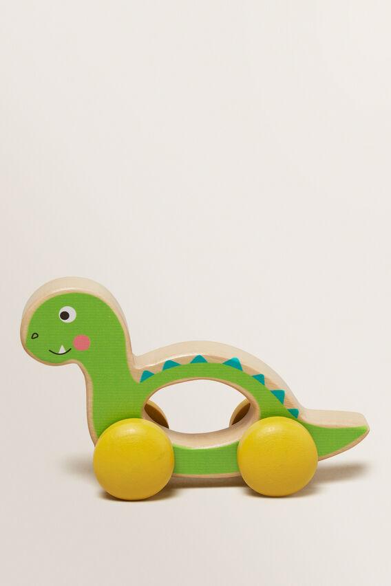 Wheelie Dino  GREEN  hi-res