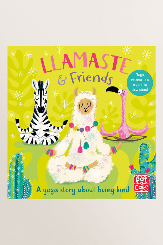 Llamaste and Friends Book  MULTI  hi-res