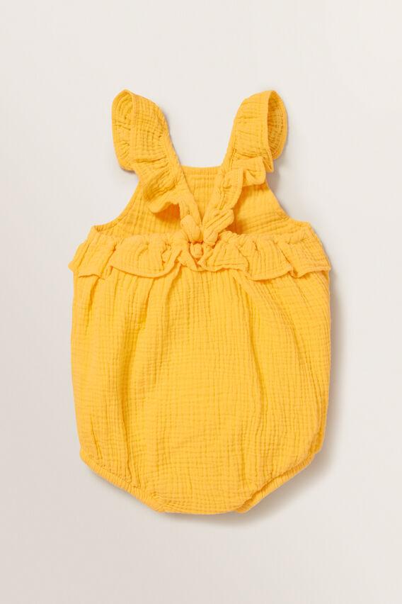 Cheesecloth Romper  MARIGOLD  hi-res
