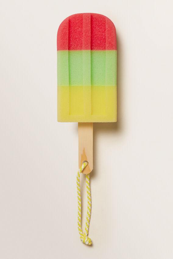 Ice-Cream Sponge With Rope  MULTI  hi-res
