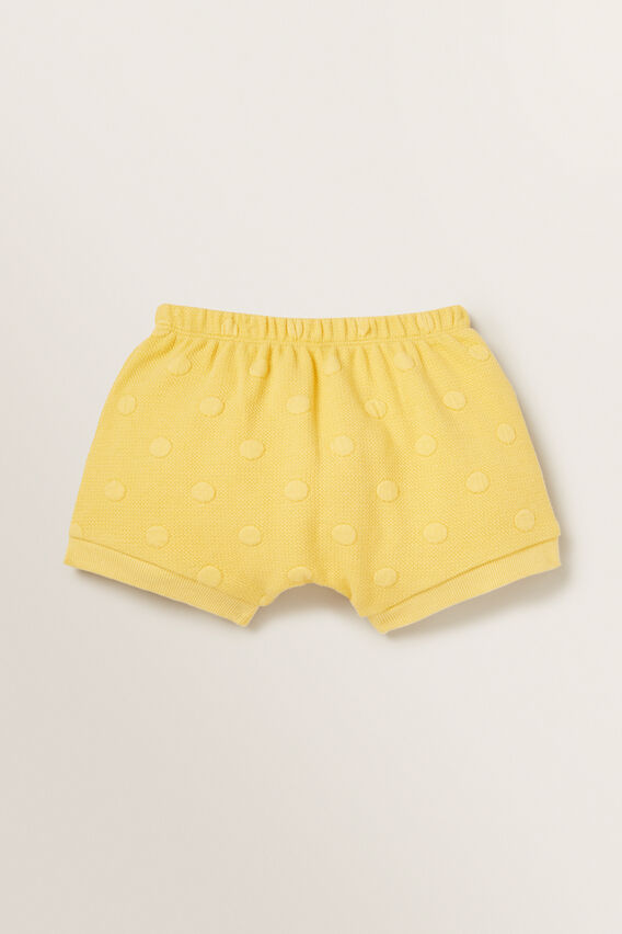 Quilted Spot Short  SUNFLOWER  hi-res