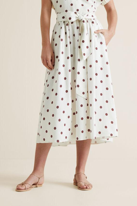Hi-Lo Spot Skirt  SPOT  hi-res