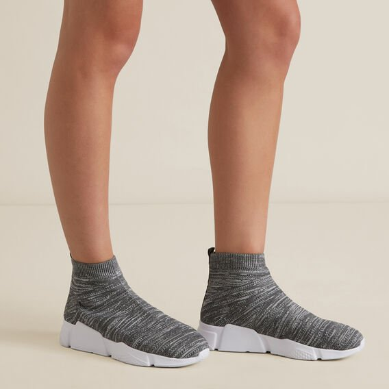Sock Sneaker  GREY  hi-res