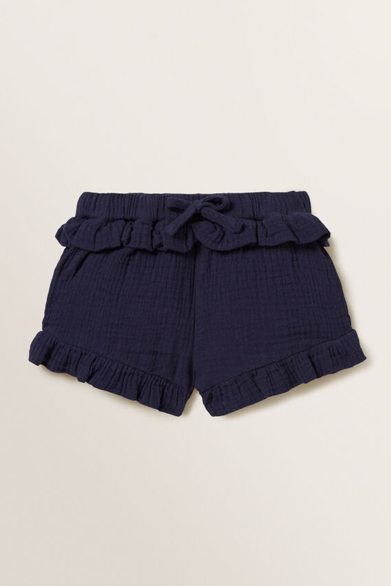 Cheesecloth Shorts  NAVY  hi-res