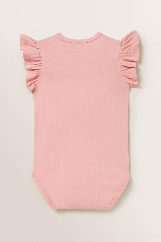 Frill Bodysuit  DUSTY PINK  hi-res