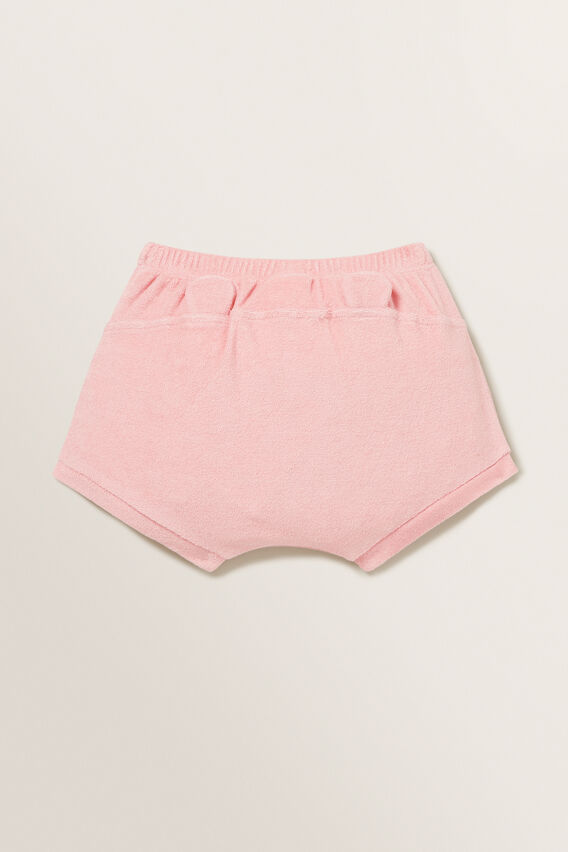 Novelty Towelling Short  DUSTY PINK  hi-res