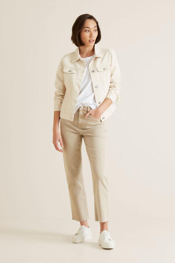 Casual Denim Jacket  OYSTER DENIM  hi-res