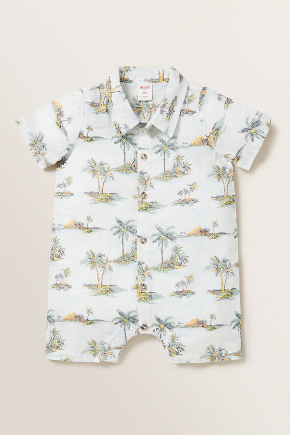 Hawaii Romper  VINTAGE WHITE  hi-res