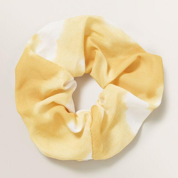 Tie Dye Scrunchie  MARIGOLD  hi-res