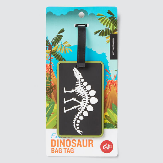 Dino Bag Tag  MULTI  hi-res
