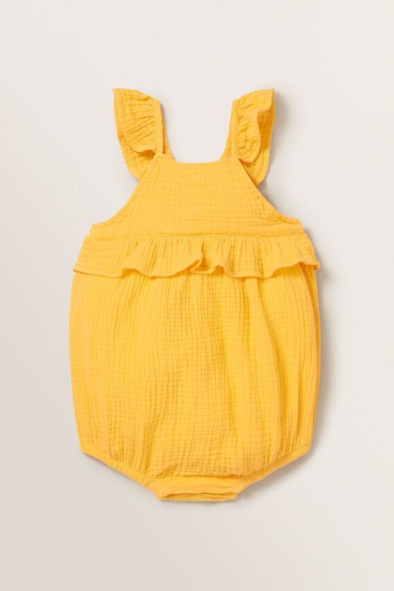 Cheesecloth Romper  MARIGOLD  hi-res