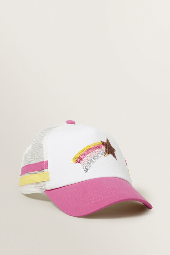 Shooting Star Cap  FUCHSIA  hi-res