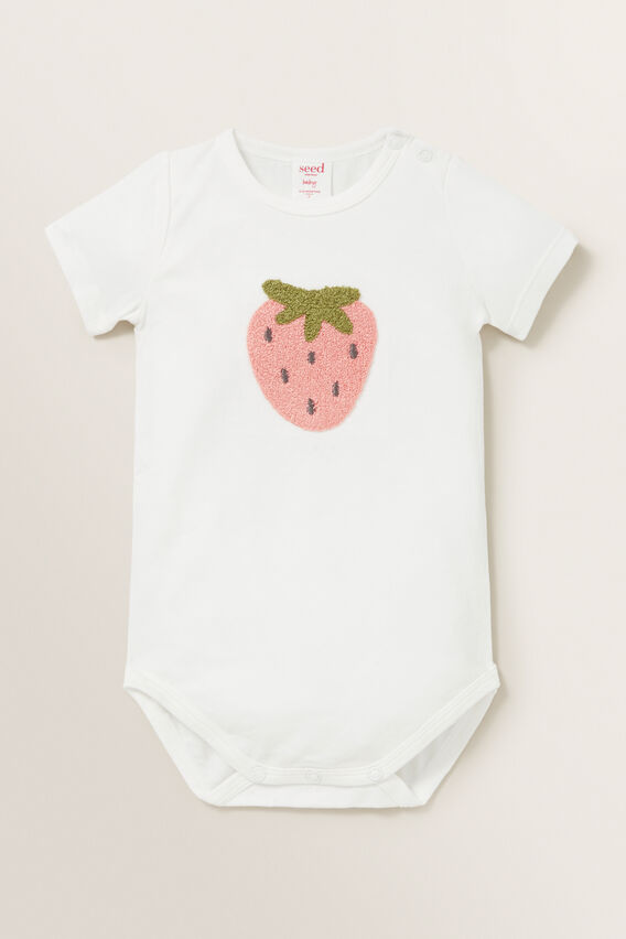 Strawberry Bodysuit  CANVAS  hi-res