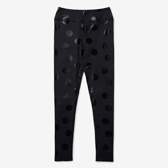 Spot Legging  BLACK  hi-res