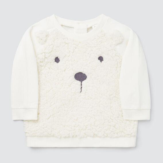Bear Sherpa Sweater  CANVAS  hi-res