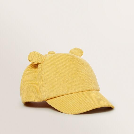 Corduroy Bear Cap  BUMBLEBEE  hi-res