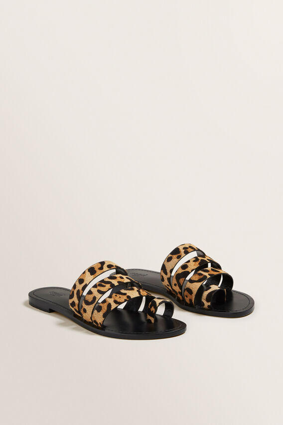 Lea Leather Sandal  OCELOT  hi-res