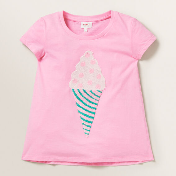 Ice Cream Tee  PINK BLUSH  hi-res