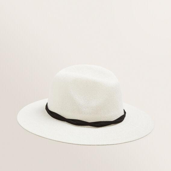 Twist Band Panama  CREAM/BLACK  hi-res