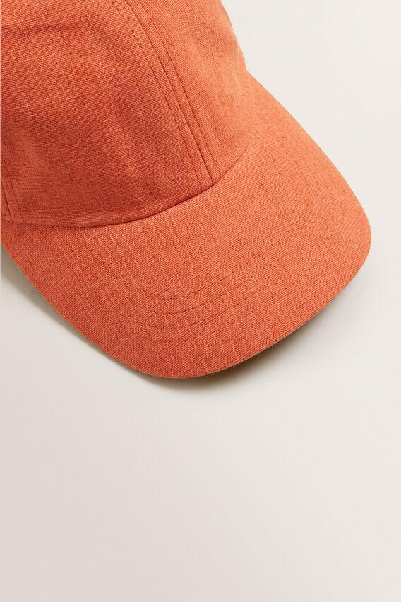 Textured Cap  SUNBURNT ORANGE  hi-res