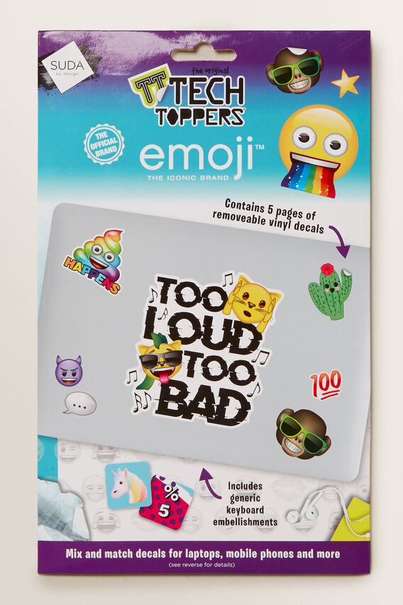 Emoji Tech Toppers  MULTI  hi-res