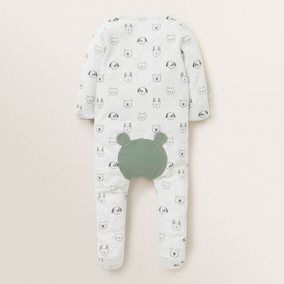 Animal Zip Suit - (Available in size 00000)  ICY MARLE  hi-res