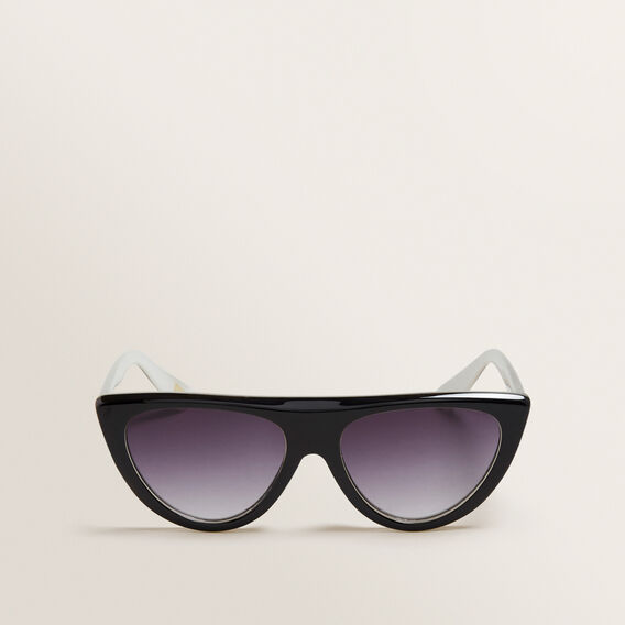 Zara Flat Top Sunglasses  BLACK  hi-res