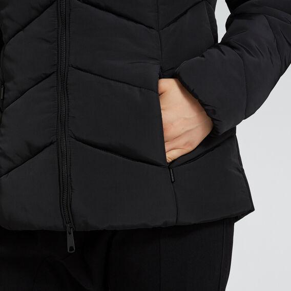 Puffer Jacket  BLACK  hi-res