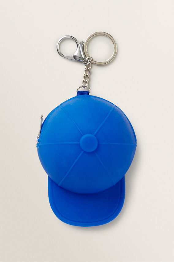 Squishy Cap Keychain  BRIGHT COBALT  hi-res