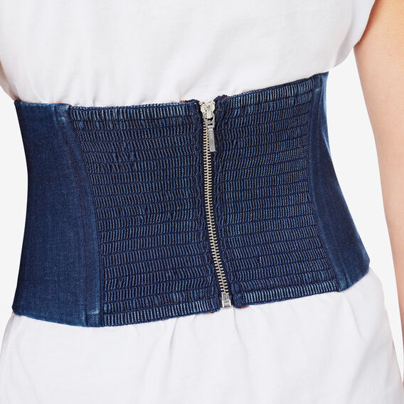 Denim Corset  INDIGO NIGHT  hi-res