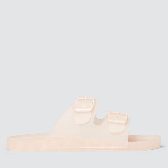 Luna Buckle Jelly Slide  PINK  hi-res