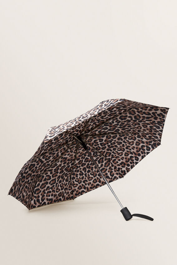Compact Umbrella  NATURAL OCELOT  hi-res