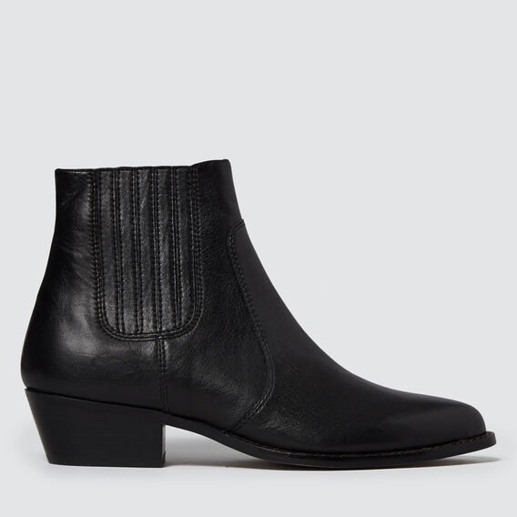 Jane Western Boot  BLACK  hi-res