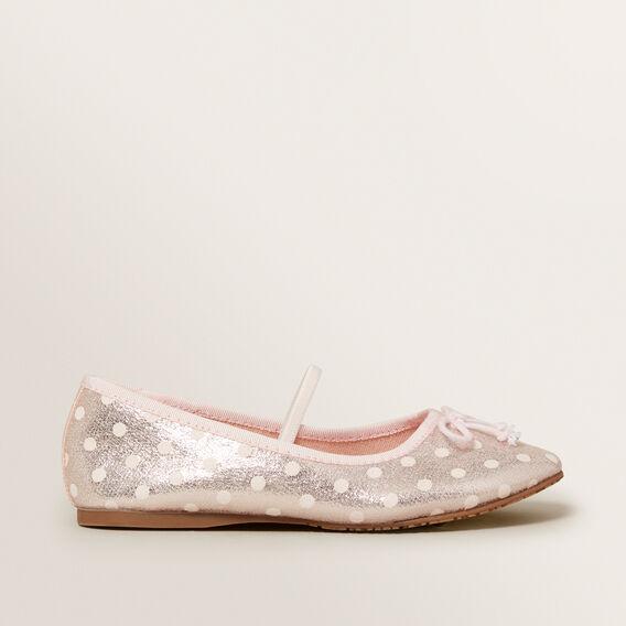 Party Spot Ballet Slipper  PINK  hi-res