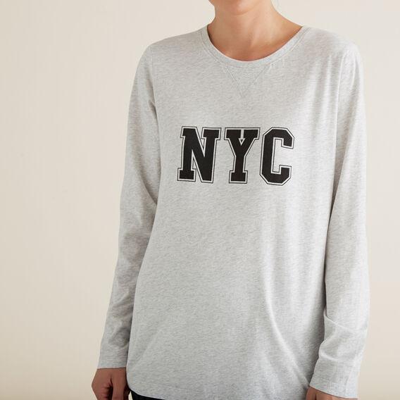 NYC Long Sleeve Tee  ICY MARLE  hi-res