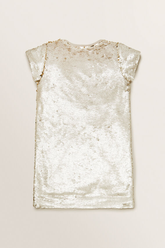 Sequin Dress  STONE  hi-res