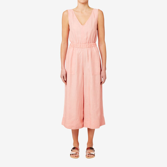 V Neck Jumpsuit  SOFT PINK  hi-res