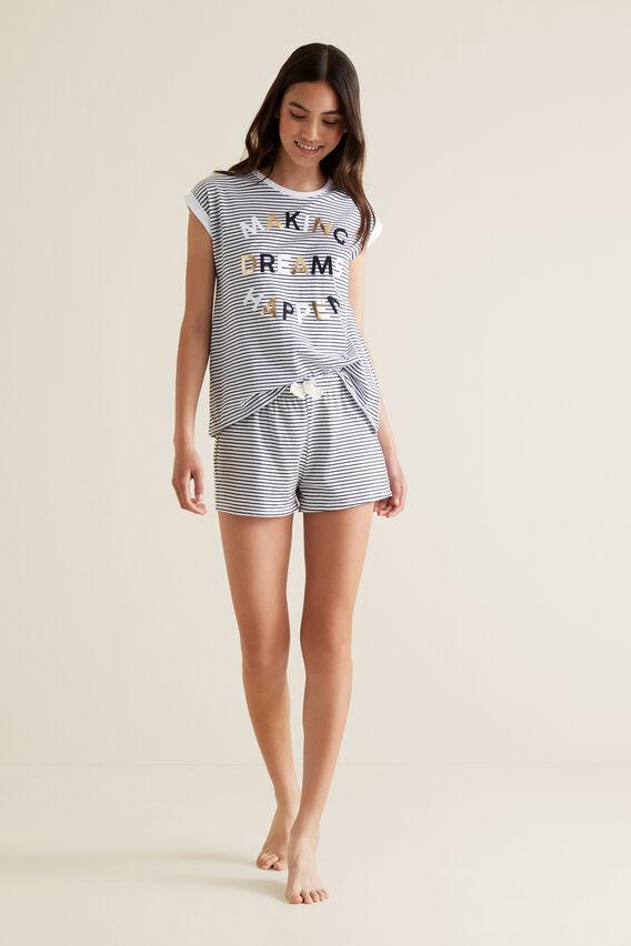 Dream Short Sleeve Pyjama  MIDNIGHT  hi-res