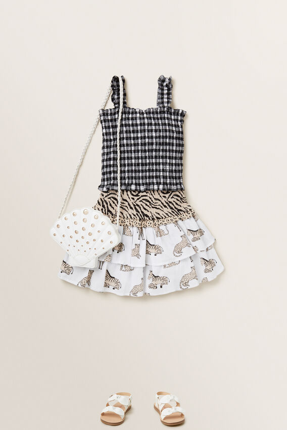 Spliced Animal Skirt  MULTI  hi-res