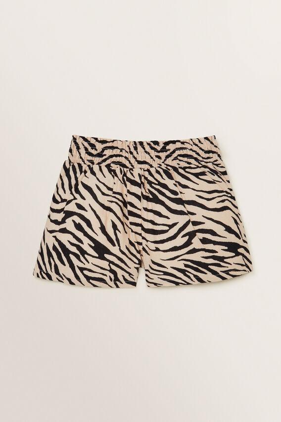 Zebra Pleat Shorts  ZEBRA  hi-res