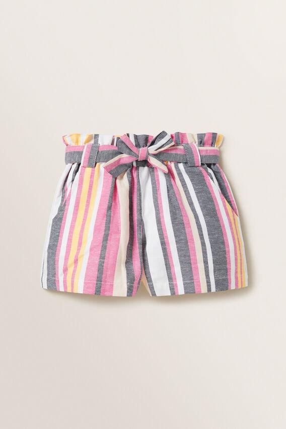 Multi Stripe Shorts  MULTI  hi-res