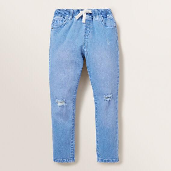 Distressed Jean  FADED BLUE  hi-res
