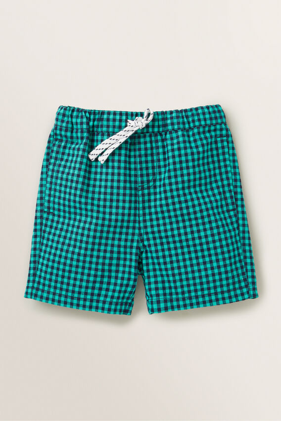 Gingham Short  APPLE GREEN  hi-res