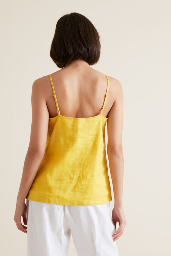 Linen Cami  GOLD RUSH  hi-res